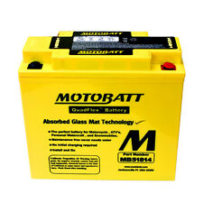 Enhanced battery MB51814 Motobatt BMW K1200LT 2005 - 2009 = Yuasa 51814