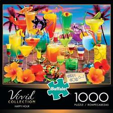 BUFFALO GAMES PUZZLE VIVID COLLECTION HAPPY HOUR ROYCE B MCCLURE 1000 PCS #11705
