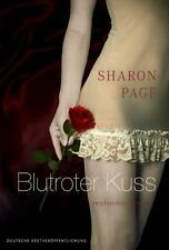 Blutroter Kuss  Erotik Roman  Sharon Page Taschenbuch ++Ungelesen++