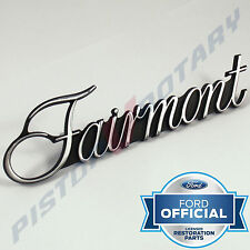 FAIRMONT Guard Badge , Chrome, BRAND NEW , for XR XT XW XY Ford 351 GT Fender