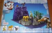 Ice Age Sid, Diego & Scrat BricTek Building Construction Block Brick Toy