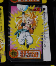 DRAGON BALL Z GT DBZ HONDAN PART 22 CARDDASS DP CARD REG CARTE 233 JAPAN 1995 NM
