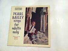 RARE - PEARL BAILEY SINGS FOR ADULTS ONLY - (RARE 1950s FEMALE JAZZ)  VG+++