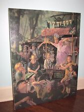 "BOB BYERLEY ""Travelling Ballet"" Giclee Canvas Signed 5/395 Hand Highlights!"