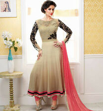 Designer Embroidered Anarkali Suit with Dupatta+Bottom+ Inner