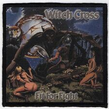 WITCH CROSS PATCH / SPEED-THRASH-BLACK-DEATH METAL