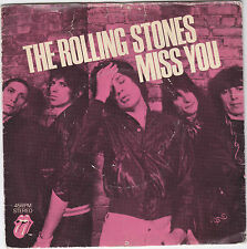 "Single 7"" - The Rolling Stones ""Miss You / Far away Eyes"""