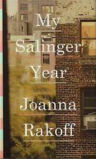 'My Salinger Year' by Joanna Rakoff (2014, Hardcover) - Like New