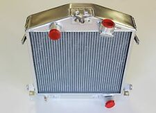 HOT ROD FORD RADIATOR ALUMINIUM 530 X 440 WIDE,CORE 70 MM THICK SUPER COOL CORE