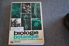 Biologie botanique pour l'enseignement secondaire (J4)