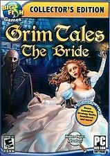 Grim Tales The Bride(PC DVD) BIG FISH GAMES BRAND NEW SEALED SHIPS NEXT DAY