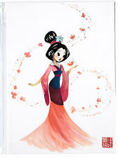 "Disneyland Postcard - WonderGround Gallery - ""Greatest Gift & Honor"" Liana Hee"
