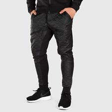 Men's Nike Winterized Fleece Cuffed Pants Black Size LARGE 678942 010 NWT