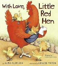With Love, Little Red Hen-ExLibrary
