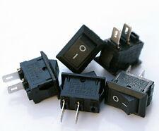 1 x Mini Interruptor basculante 2 Pines rectángulo Preto