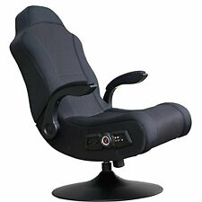 X Rocker Commander GAMING CHAIR, 2.1 Audio Speakers VIDEO GAME CHAIR, Black