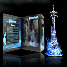 "New World of Warcraft 11"" Frostmourne Lich king Sad Sword Action Figure Toy LCF"