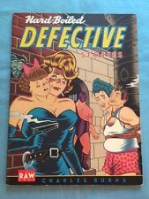 HARD-BOILED DEFECTIVE STORIES - 1ST. ED. SIGNED BY GRAPHIC ARTIST CHARLES BURNS