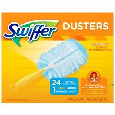 Swiffer Dusters 24 Refills + 1 Handle New!!!