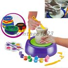 NEW Discovery Kids Motorized Pottery Wheel With Clay