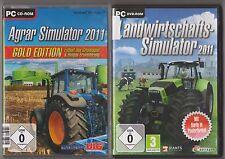 Landwirtschafts Simulator 2011 + Agrar Simulator 2011 & Biogas Gold PC Spiele