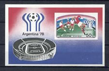 s5316) KOREA 1978 MNH** World Cup Football-Campionato Mondiale Calcio S/S IMPERF
