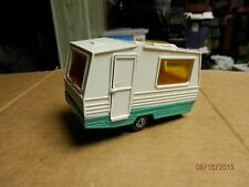 MOJORETTE  VERY OLD TRAVEL TRAILER......COLLECTABLE....
