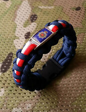 Royal Corps of Transport 550 Badged Paracord Bracelet