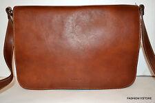 I Medici Italian Leather Men's  Brown Bag Messenger/Crossbody Sac Bolsa