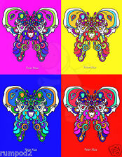Butterfly Poster/ Peter Max interpretation/Colorful Poster/Psychedelic POP ART