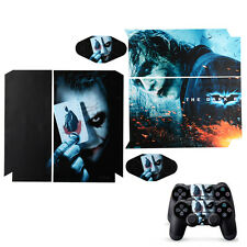 Cool Joke clown Decal Sticker Skin Full Body For PS4 Console Controller Black