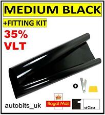 CAR WINDOW TINT FILM TINTING  BLACK  SMOKE 35% 76cm x 3M NEW
