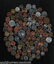 100 ALL DIFFERENT COUNTRIES WORLD WIDE CURRENCY COINS COLLECTION 5,000 5000 SETS