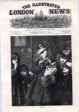 1872 Distributing Hot Cross Buns To The Poor Good Friday