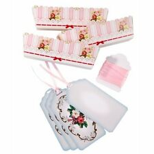 Frills and Frosting Small Loaf Cake Moulds with Ribbon,Bags & Tags, Pack of 12