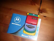 MOTOROLA STARTAC RAINBOW 1997 ORIGINALE LIMITED EDITION UNICO + BATTERIA NUOVA
