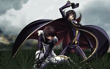 POSTER CODE GEASS LELOUCH OF REBELLION RURUSCIU NUNNALLY SUZAKU ANIME MANGA #6