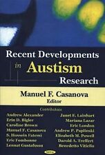 Recent Developments in Autism Research (2005, Hardcover) NEW