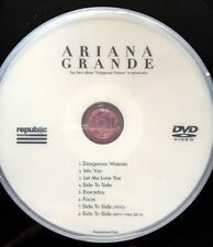 Ariana Grande DVD 8 music videos + Live side to side everyday into you focus +