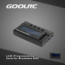 GoolRC LCD Programming Card Box for RC Brushless Car ESC P6L9