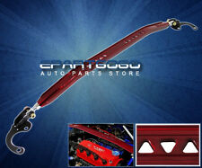 2003-2008 TOYOTA MATRIX  COROLLA FRONT UPPER ALUMINUM STRUT TOWER BAR BRACE RED