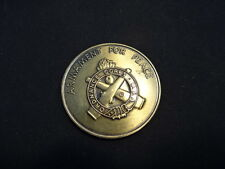 US Army School Armament For Peace Ordnance Corps Challenge Coin Student