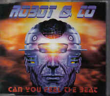 Robot&Co-Can You Feel The Beat cd maxi single eurodance holland