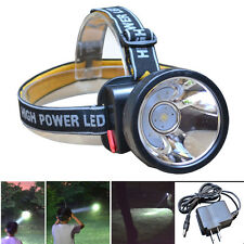 Waterproof Rechargeable LED Headlamp Headlight Torch Lamp+ Battery + Charger