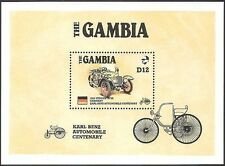 Gambia 1986 Vintage Cars/Benz 100th /Transport/Motors/Motoring 1v m/s (s5243)