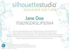 Silhouette Studio Software Upgrade to Designers Edition - CARD BY POST