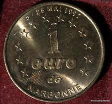NARBONNE  EURO  TEMPORAIRE  VILLES JETON MÉDAILLE MUNZE COIN 1082A273