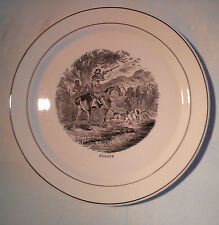 "VILLEROY & BOCH : assiette "" France """