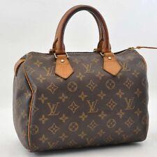 Authentic  Louis Vuitton Monogram Speedy 25 Hand Bag M41528 #S2453 E