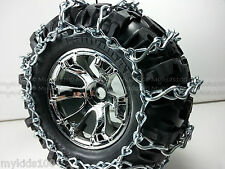 4 Summit HD RC Snow Chains For Traxxas 5673 5670 CanyonAT Tire 7.1x3.8x3.8 Revo